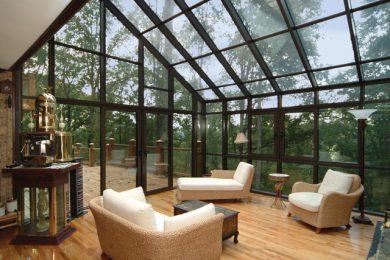 Cam Çatı Kış Bahçesi